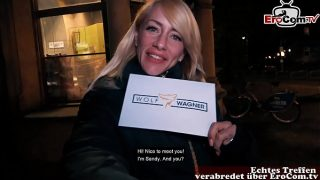 Deutsche blonde tattoo Fitness Teen Fit XXX Sandy macht EroCom Date Usertreffen