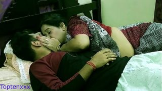 Hot Bengali step mom teaching her step son how to sex with girls With clear dirty audio