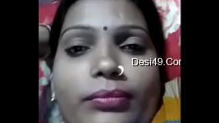 My Sexy Bhabhi Showing Her Boobs On Video Call -2