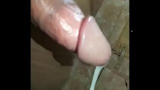 Pissing and cumming together LOTS OF CUM must watch